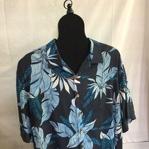 Hawaiian Shirt Men's Caribbean Lg